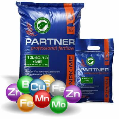 Partner NPK 13.40.13 +ME+AMK Energy удобрение