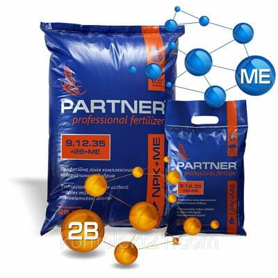 Partner NPK 9.12.35 +ME+AMK Energy удобрение